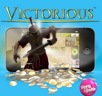 Vann 616 120 kr på Victorious i Vera & John mobilcasino image