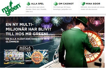 Ny VD på Mr Green Casino image