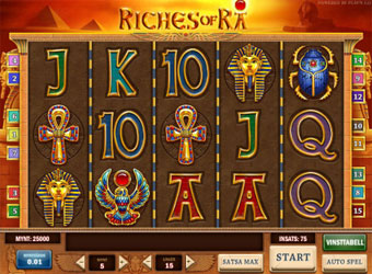 Mobilspelare vann 123 966 kronor på Riches of Ra image
