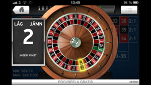 Roulette Touch hjul