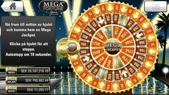 Mega Fortune Touch bonusspel