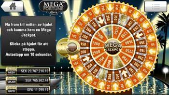 Mega Fortune Touch bonusspel