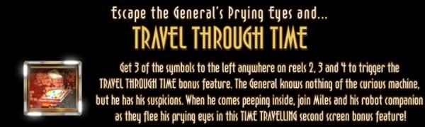 The Curious Machine travel through time