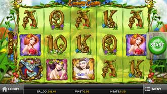 Enchanted Crystals mobil slot
