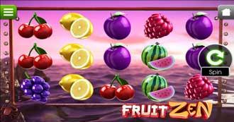 Fruit Zen mobil