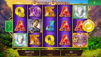 Golden Goddess mobil slot