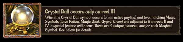Gypsy Rose Crystal Ball
