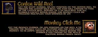 Lost centre wild reel