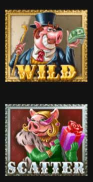 Piggy Riches wild och scatter