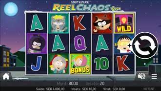 South Park Reel Chaos mobil