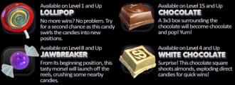 SugarPop bonussymboler