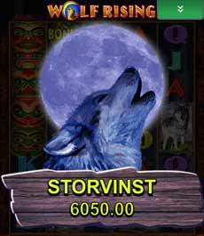 Wolf Rising storvinst