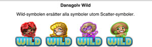 Dansgolv Wild