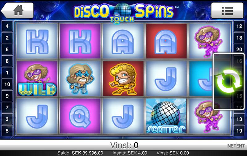 Disco Spins - Gratis Disco Spelautomat på nätet
