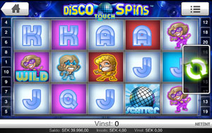 Disco Spins Touch