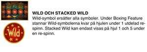 Stacked wild